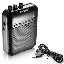 Neewer® Multifunction Portable Cube Electronic Guitar Amplifier Recorder Speaker 5W Guitar Amp S ...