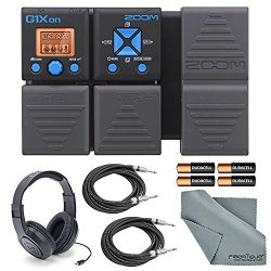 Zoom G1Xon Guitar Effects Pedal with Expression Pedal + Basic Accessories – Samson Stereo  ...