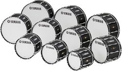 Yamaha 20″ x 14″ 8300 Series Field-Corps Marching Bass Drum Black Forest
