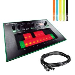 Roland TB-3 Touch Bassline Bass Synthesizer -INCLUDES- Hosa 5-pin DIN to 5-pin DIN 5ft MIDI Cabl ...