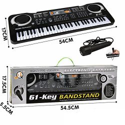 61 Key Keyboard Piano For Kids ,Children Portable Electric Organ ,Music Electronic Keyboards Pia ...