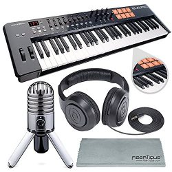 M-Audio Oxygen 49 MK IV 49-Key USB MIDI Keyboard/Drum Pad Controller with VIP Software Download  ...