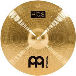 Meinl Cymbals HCS18CR 18″ HCS Brass Crash/Ride Cymbal for Drum Set (VIDEO)