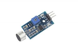 Elepartpro Sound Sensor Module Sound Sensor High Sensitivity Sound Microphone Sensor Detection M ...