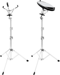 Ahead Mini Snare/Practice Pad Stand with Basket