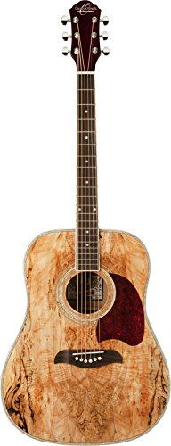 Oscar Schmidt OG2SM-R-U Acoustic Guitar – Spalted Maple