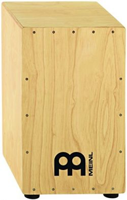 Meinl Percussion Full Size Hardwood String Cajon for Adjustable Snare Effect 2-YEAR WARRANTY (HC ...