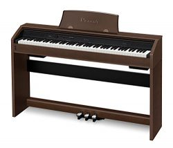 Casio PX-760 Privia Digital Home Piano, Brown