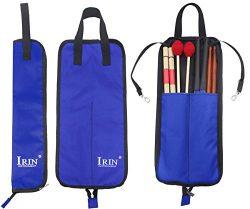 Drumstick Bag Case, Buytra Drum Stick Holder Percussion Drum Mallet Bag with Floor Tom Hooks, Blue