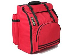 D'Luca DAG-34-RD Pro Series Accordion Gig Bag for 34 Keys/Chromatic Size, Red
