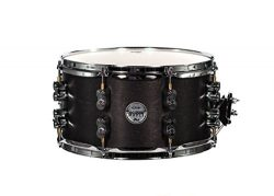 PDP By DW Black Wax Maple Snare Drum 7×13