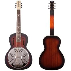 Gretsch G9230 Bobtail Square-Neck Acoustic-Electric Resonator Guitar – 2 Color Sunburst