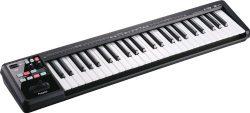 Roland Lightweight MIDI Keyboard Controller, Black (A-49-BK)