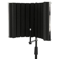LyxPro VRI-30 – Portable & Foldable Sound Absorbing Vocal Recording Panel – Stan ...