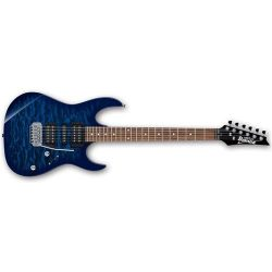 Ibanez GRX70QATBB Electric Guitar – Transparent Blue Burst