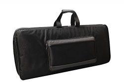 Korg PA700 Professional Arranger 61-Keys Keyboard Padded Sponge Black Bag/Cover Case