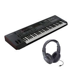 Yamaha MOXF6 – 61 Keys Semi Weighted Keyboard Synthesizer with MOTIF XF Sound Engine and F ...