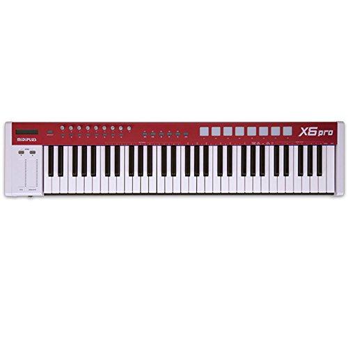 midiplus x6 pro usb midi keyboard controller musicalbin musicalbin. Black Bedroom Furniture Sets. Home Design Ideas