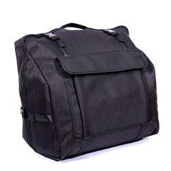 HNYG Accordion Gig Bag Bass Piano Accordions Case Musical Instrument Bag A593 Black (120 bass)
