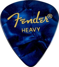 Fender 351 Shape Premium Picks (12 Pack) for electric guitar, acoustic guitar, mandolin, and bass