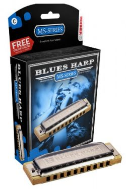 Hohner 532BX-A Blues Harp, Key Of A Major