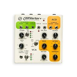 ConVertor+ : Semi-Modulor Analog Audio-Controlled Synthesizer