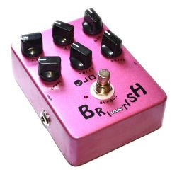 Joyo JF-16 British Sound Effects Pedal with Classic Brit-Rock Era Amp Simulator and Unique Voice ...