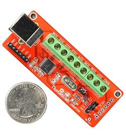 8 Channel USB GPIO Module With Analog Inputs (Pack of two)