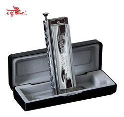 Swan Chromatic Harmonica Mouth Organ 12 Holes with 48 Tone Key of C Reed