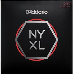 D'Addario NYXL1052 Nickel Wound Electric Guitar Strings, Light Top/Heavy Bottom, 10-52