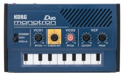 Korg MONOTRONDUO 0-Key Dual Oscillator Analog Pocket Synthesizer