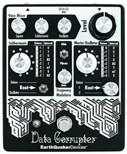 EarthQuaker Devices Data Corrupter Modulated Monophonic Harmonizing Phase Locked Loop Effect Pedal