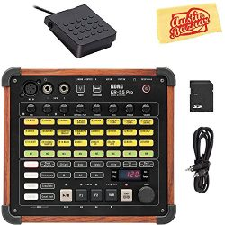 Korg KR-55 Pro Drum Machine Bundle with Footswitch, AUX Cable, SD Card, and Austin Bazaar Polish ...