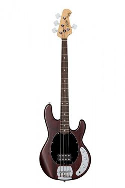 Sterling by Music Man StingRay Ray4 Bass Guitar in Walnut Satin