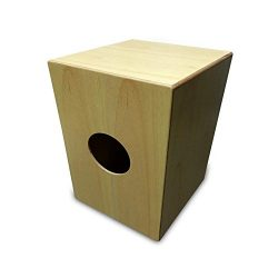 Pyle String Cajon – Wooden Percussion Box, with Internal Guitar Strings, Full Size (PCJD18)