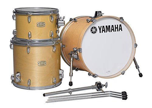 Yamaha Stage Custom Birch 3pc Bop Drum Shell Pack – 18″ Kick, Natural Wood