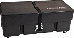 Gator Cases Protechtor Series Classic Compact Drum Hardware Accessory Case with (2) Wheels; 36&# ...