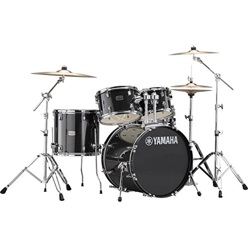 Yamaha Rydeen Acoustic Drum Set Drum Kit Set (5-piece shell pack) with Single Braced Drums Hardw ...
