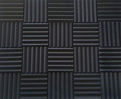 Soundproofing Acoustic Studio Foam – Wedge Style Panels 12″x12″x2″ Tiles ...