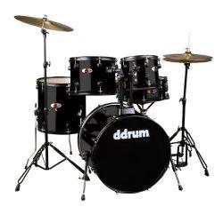 ddrum D120B MB D Series Drum Set 5 Piece Complete, Black
