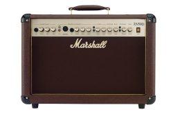 Marshall Acoustic Soloist AS50D 50 Watt Acoustic Guitar Amplifier with 2 Channels, Digital Choru ...