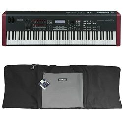 Package: Yamaha MOXF8 88 Key Workstation Keyboard w/MOX8 + Motif XF8 Sound & Effects Library ...