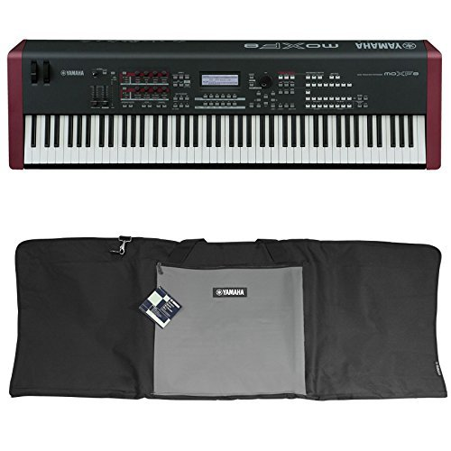 package yamaha moxf8 88 key workstation keyboard w mox8 motif xf8 sound effects library. Black Bedroom Furniture Sets. Home Design Ideas