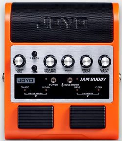 Joyo JAM BUDDY Portable Dual channel 2x4W Guitar Pedal Amp (Orange)