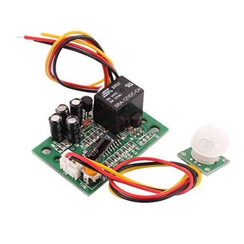 uxcell 12V DC Human Body Motion Sensor Module Switch Board Infrared Sensor