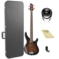 Yamaha TRBX174EW TBS 4-String Bass Guitar Pack