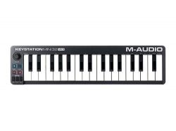 M-Audio Keystation Mini 32 MK3 | Ultra-Portable Mini USB MIDI Keyboard Controller With ProTools  ...