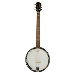 Top Grade Exquisite Professional Sapelli Notopleura Wood Alloy 6-string Banjo