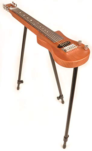 SX LAP 1 NAT Natural Lap Steel Guitar w/Free Detachable Stand and Padded Carry Bag