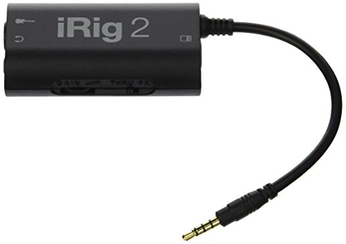 IK Multimedia iRig 2 Guitar Interface Adaptor for iPhone, iPod Touch, iPad, Mac and Android (IPI ...